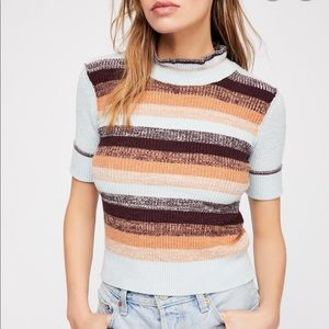 Free People Best Intentions Sweater, short sleeve
